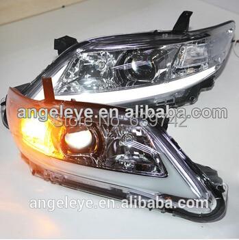 Pro TOYOTA 2006-2009 rok pro Camry LED LED světlomety U.S Verze Chrome Pouzdro YZ