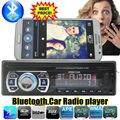 2015 новый 12 В Автомобильный Fm-радио Плеер MP3 Аудио-Плеер с Bluetooth функция ручной свободный USB/SD MMC Порт Автомобильный радиоприемник bluetooth В Тире 1 DIN