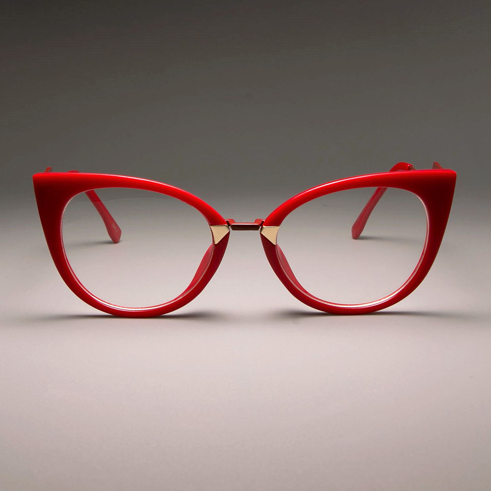 C5 red clear lens