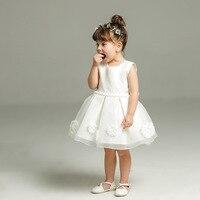 Sun Moon Kids Dress Girl Child Summer Children S Costume White Vestido Infantil Lovely Princess Dress