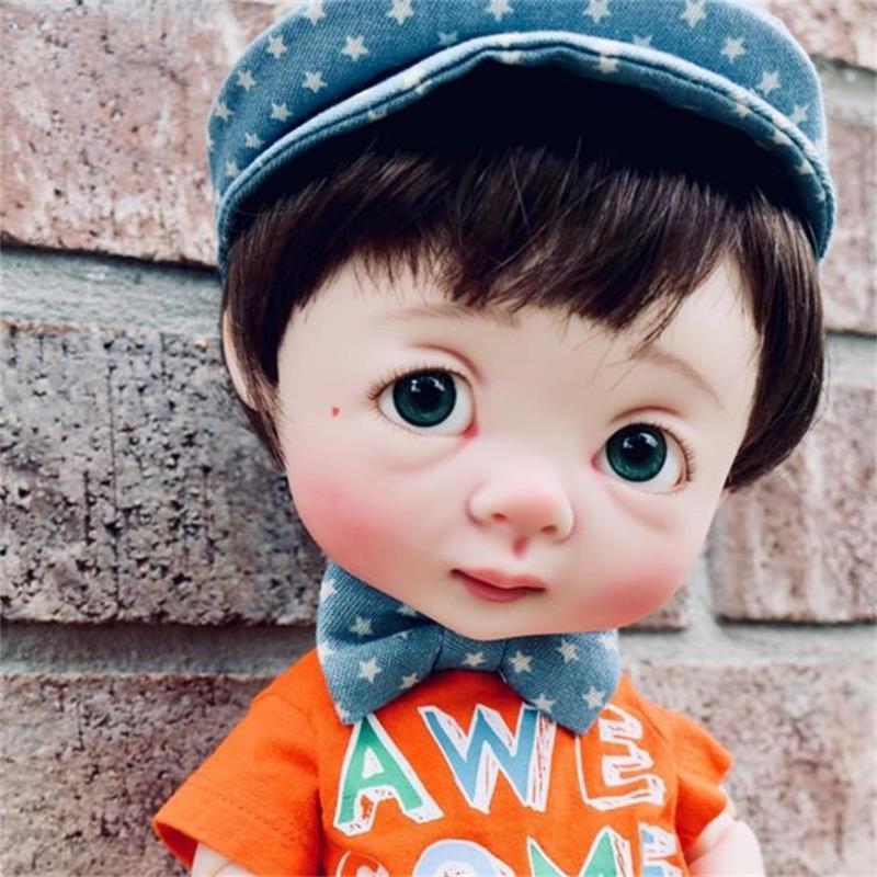 Livraison gratuite poupée Dollbom Ollien BJD SD 1/8 modèle de corps bébé filles garçons haute qualité magasin de jouets figurines en résine Irrealdoll luodoll-in Poupées from Jeux et loisirs    1