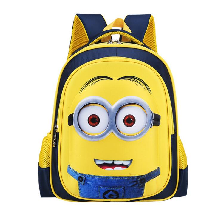 Fashionable Despicable Me Inspired School Bags For Kids