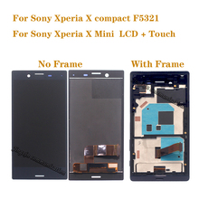 4.6 Original LCD For Sony Xperia X compact F5321 display LCD touch screen assembly digitizer for X mini LCD monitor repair kit new original ed050sc5 lf e ink lcd display for pocketbook 515 mini ebook reader