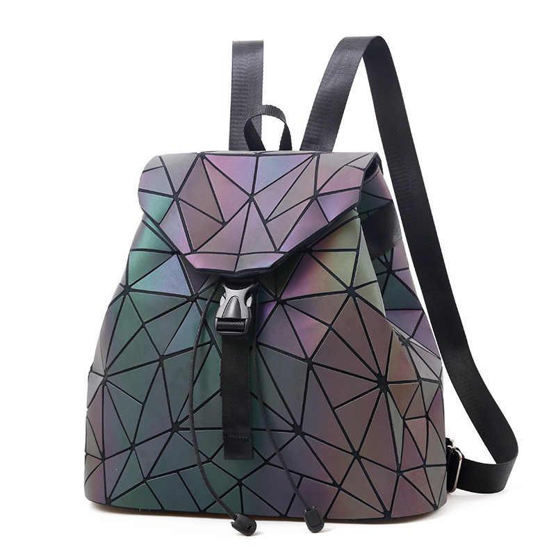 80b48a84e4f5 ... Женский рюкзак, светящиеся школьные сумки, маленькие модные рюкзаки для  девочек-подростков, известный ...