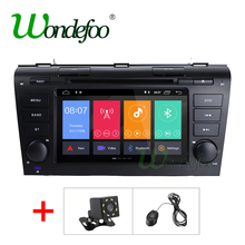 2G RAM Android 8.1 auto multimedia For Mazda 3 mazda3 2004 2005 2006 2007 2008 2009 dvd player radio stereo wifi output BT USB(China)