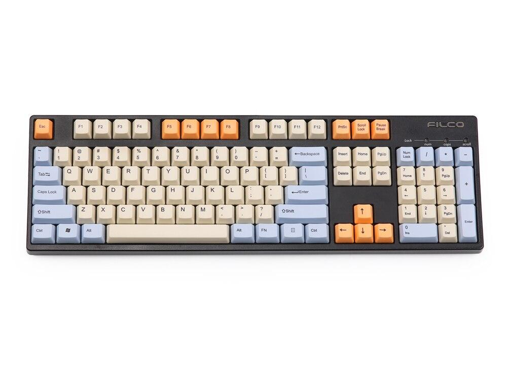 ANSI 104 Key Top Print Keyset Thick PBT OEM Profile Keycaps For 61 87 104  MX Mechanical Keyboard (Big Discount Christmas Sale 2019)