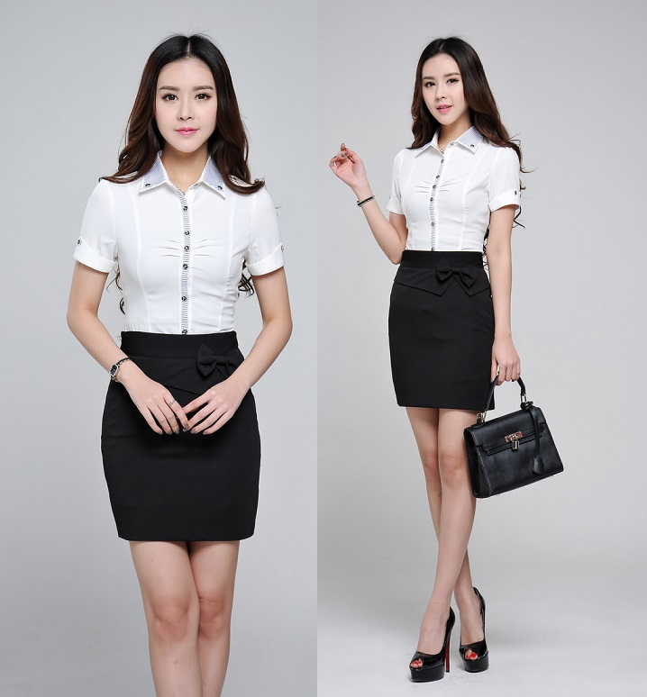 New 2015 summer formal professional clothes office uniform for Office uniform design 2015