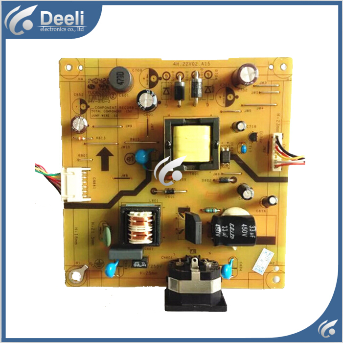 95% new USED original for power supply board  K202HQL P229HQL 4H.22V02.A10 4H.22V02.A17 газонокосилка электрическая prorab clm 1500