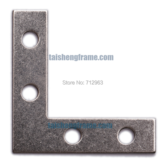 L Plates SMALL 38*38*10mm Plated 200pcs , Framing Materials & Equipment for the Professional , frame accessories-in Hooks from Home Improvement on ...