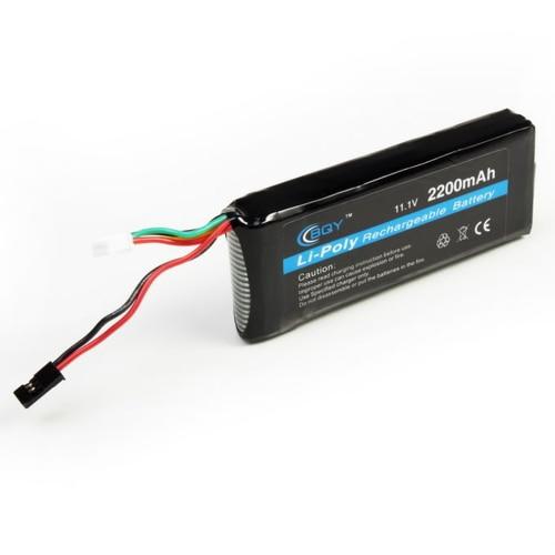 1pcs BQY Transmitter Lipo font b Battery b font 11 1v 2200mah 3S 10C 3PK Futaba