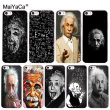 MaiYaCa e mc2 E=mc Math Albert Einstein Luxury Hybrid phone case for iphone 11 pro 8 7 66S Plus X 10 5S SE XR XS XS MAX(China)