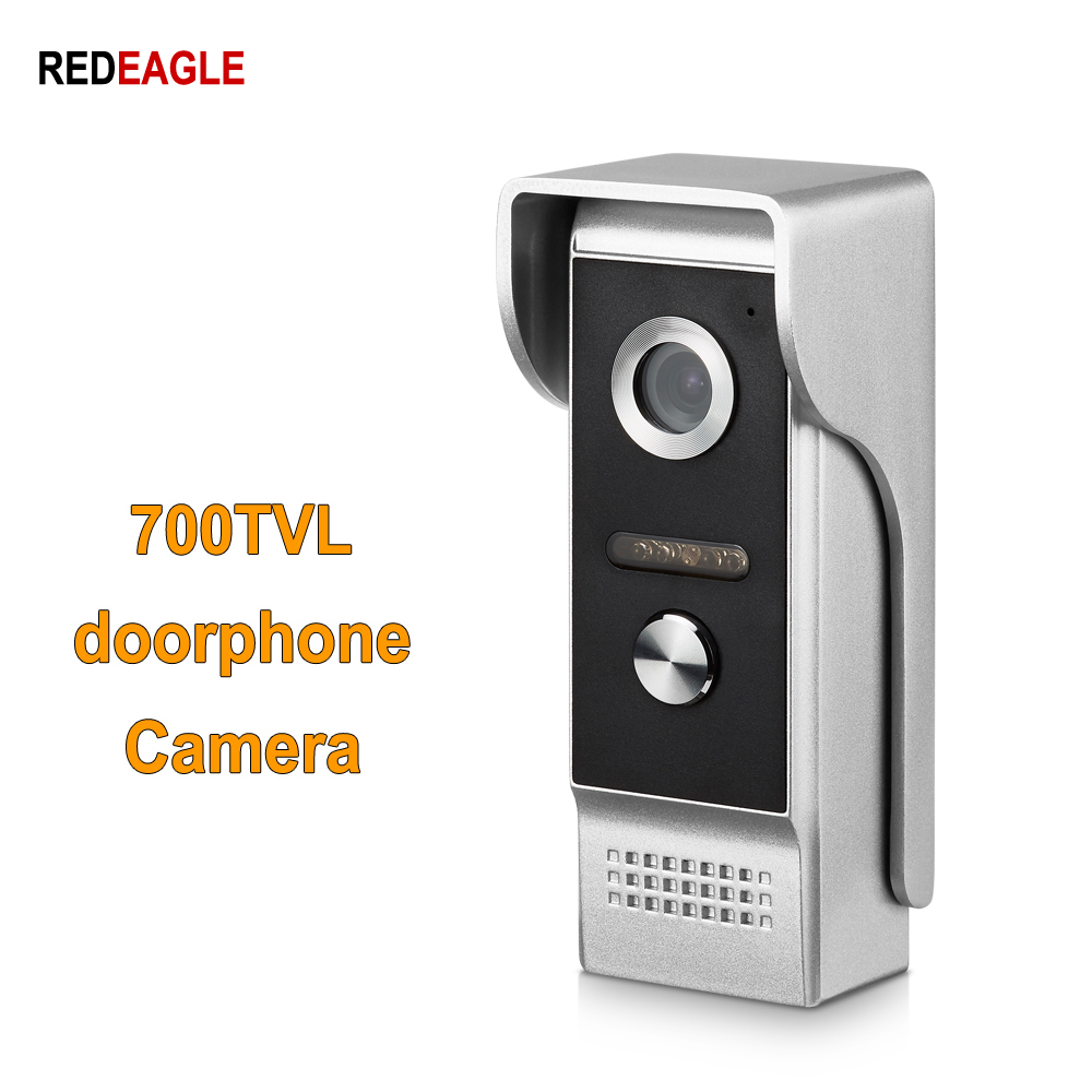 REDEAGLE HD 700TVL Metal Shell Color Outdoor Camera Unit For Wired Home video door phone intercom Access Kit REDEAGLE HD 700TVL Metal Shell Color Outdoor Camera Unit For Wired Home video door phone intercom Access Kit