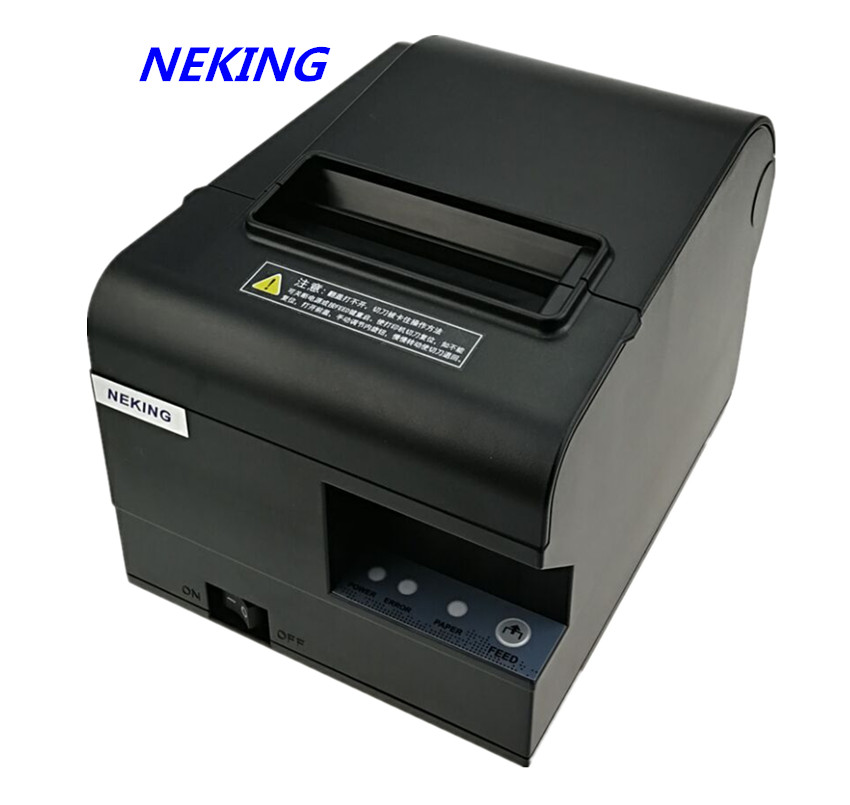 wholesale brand new High quality High speed printer 80mm receipt Small ticket POS printer automatic cutting printing wholesale brand new 80mm receipt pos printer high quality thermal bill printer automatic cutter usb network port print fast