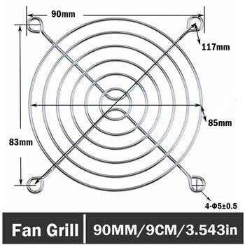 20Pcs/lot Gdstime 90MM Fan Guard Protective Grill for PC Ventilator