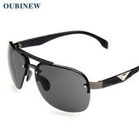 05111c0beb3 OUBINEW Brand Men s big frame sunglasses Street fashion High quality glasses  Anti-ultraviolet glasses Fashion