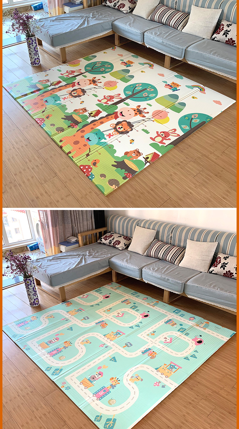 HTB1m1Nbb79E3KVjSZFGq6A19XXag Infant Shining Baby Mat Play Mat for Kids 180*200*1.5cm Playmat Thicker Bigger Kids Carpet Soft Baby Rugs Crawling Floor Mats