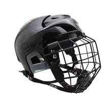 Free shipping 2016 hot sales ice hockey helmet with high metal mask and field hockey helmet  цена в Москве и Питере