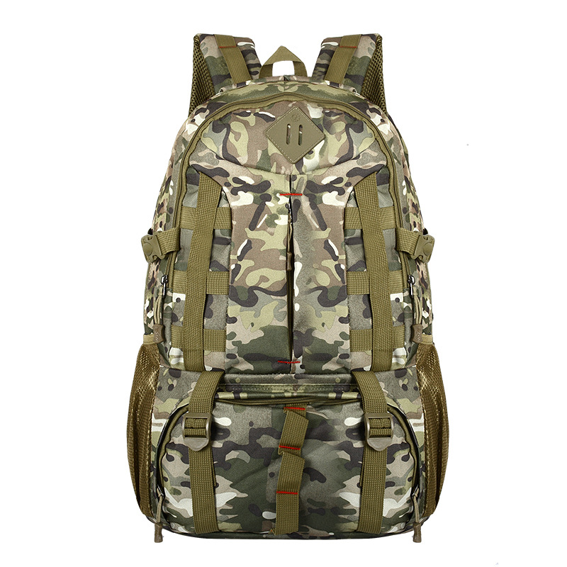 55L Big Capacity Mil-spec Nylon Travel Tactical Backpack Outdoor Military MOLLE Bag for Hunting Hiking Camping d38999 20te2sc circular mil spec tv 39c 38 22d 1 8 mr li