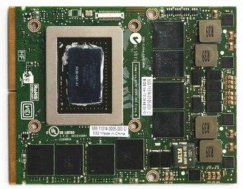 GTX675 GTX 675 2G N13E-GS1-A1 Kartı D E L M17X M18X M15X