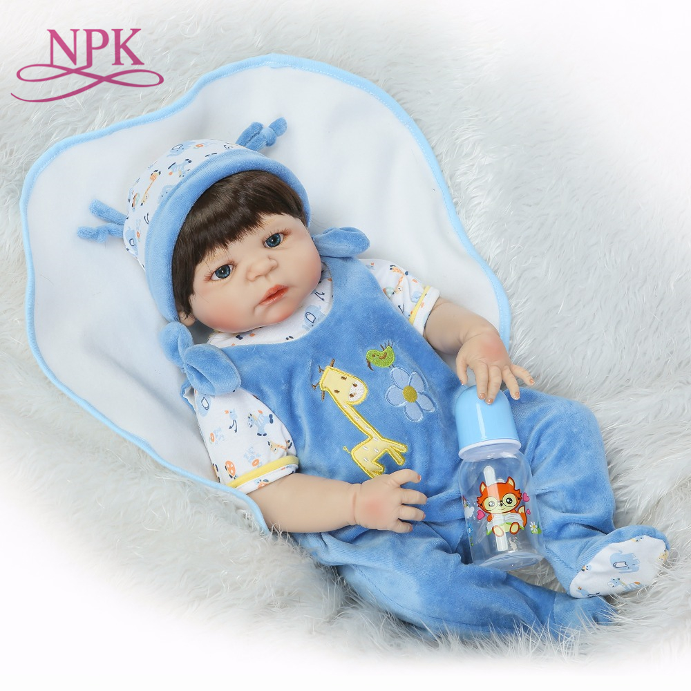 NPK reborn doll with soft gentle touch realistic soft silicone vinyl doll full vinyl body Christmas Gift for girlsNPK reborn doll with soft gentle touch realistic soft silicone vinyl doll full vinyl body Christmas Gift for girls
