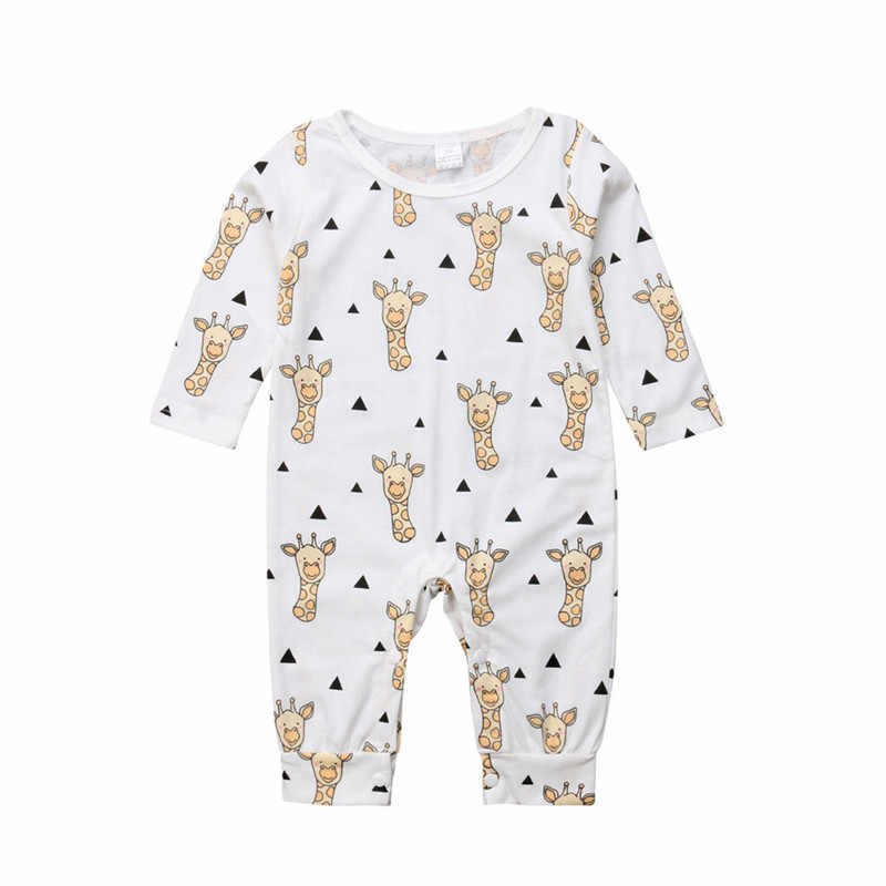 Мультфильм осень-зима для новорожденных; комбинезон для младенцев мальчиков девочек младенческой животных и юбка с цветочным рисунком комбинезон 100% хлопковый спортивный костюм для мальчиков и девочек; Roupas de bebe; одежда для малышей