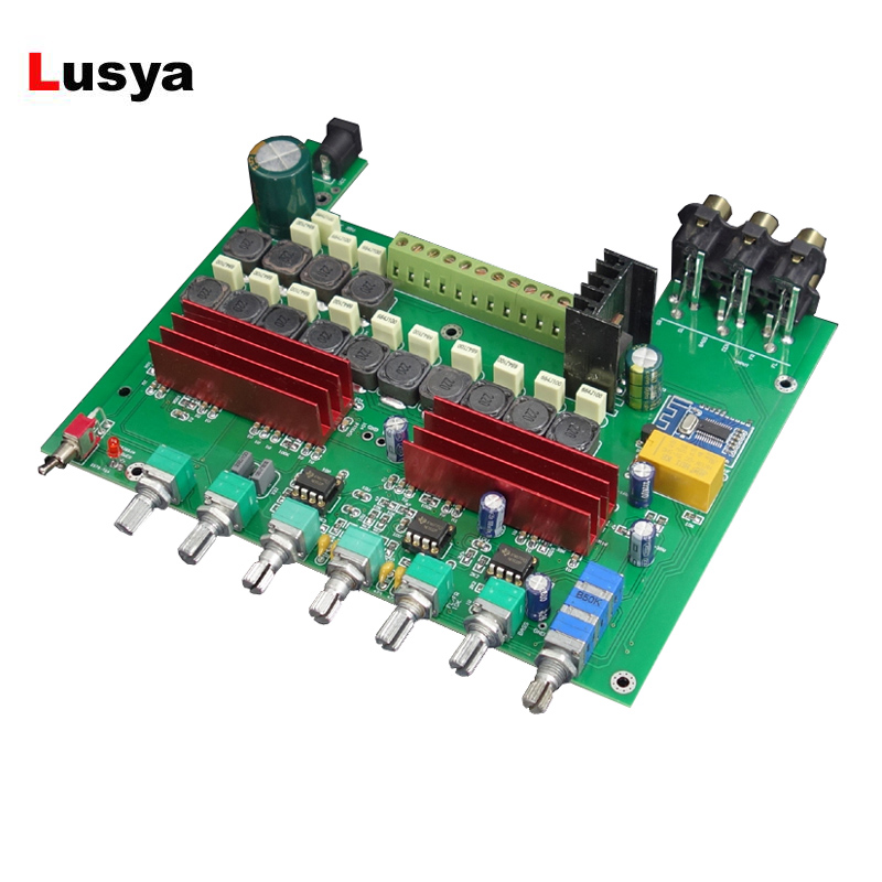 TPA3116 Bluetooth 4 2 Power Amplifier Board 100W 1 50W 5 With Treble Bass Adjustment Preamp