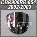 Motorcycle Accessories Silver Windshield/Windscreen For Honda CBR900RR 954 2002-2003 02 03