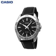 Наручные часы Casio MTP-1308PL-1A мужские кварцевые на кожаном ремешке