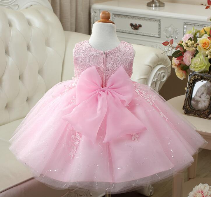 7a8368c43a1f78 Aliexpress.com   Buy New arrival baby girls wedding dress sequin children  fashion flower pink white red tutu dress girl birthday party gowns from  Reliable ...
