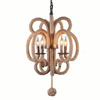 American Industrial Item Type: Dining Room Chandelier Retro Northern Nordic Restaurant hanging Lamp Kitchen Chinese knot Lamps