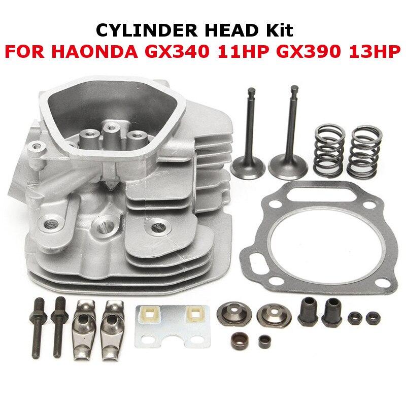 HONDA 12200-ZF6-W01 GX340 GX390 COMPLETE HEAD ASSEMBLY