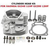 Cylinder Head Intake Exhaust Valves Gasket Plate For Honda GX390 GX340 11HP 13HP 12200 ZF6 406
