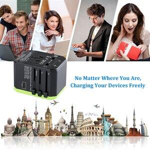 Image 5 - Rdxone Plug Adaptor travel adapter Universal Power Adapter Charger for US UK EU AU wall Electric Plugs Sockets Converter