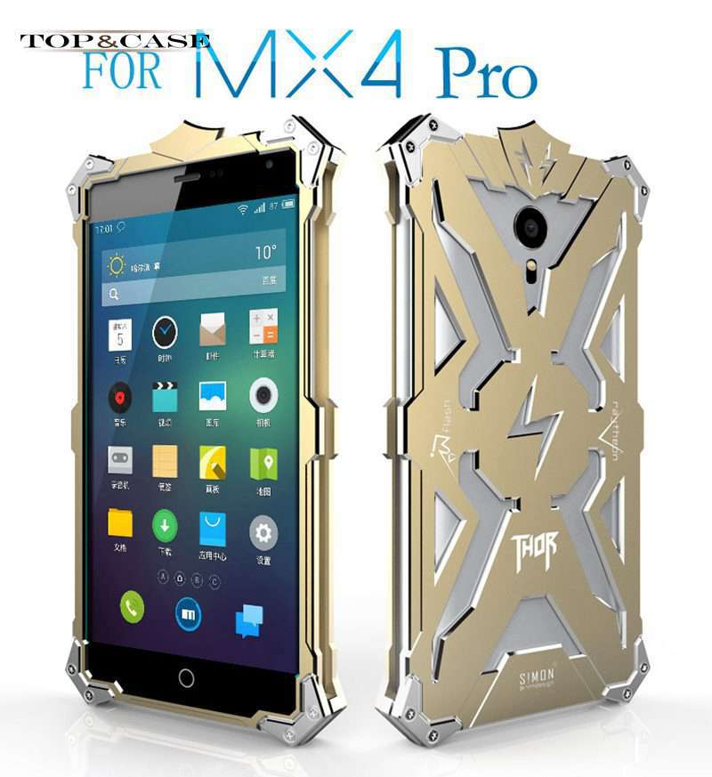 Zimon MX4 Pro Hot Sale Luxury Metal Aluminum Back Cover Case For Meizu MX4 pro Phone