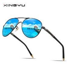Mens Polarized Sunglasses Spring hinge classic style Big glasses Driving Fishing sunglasses Anti-high beam series Fashi