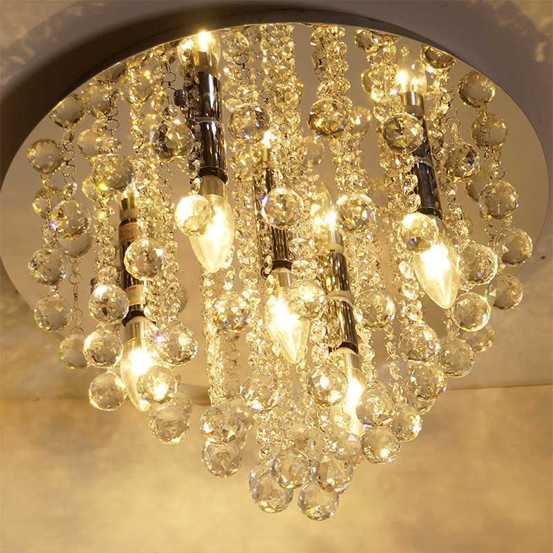 Хрустальная люстра современные люстры хрустальный шар светильник заподлицо для прихожей спальня гостиная кухня столовая