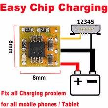 10 個オリジナル簡単チップ充電 ecc すべての充電問題すべての携帯電話やタブレット (ic 、 pcb 問題)