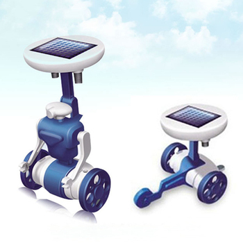6 in 1 Solar Robot Educational Toy