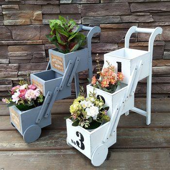 Folding 3 Tiered Flower Pot Outdoor/Indoor Decorations