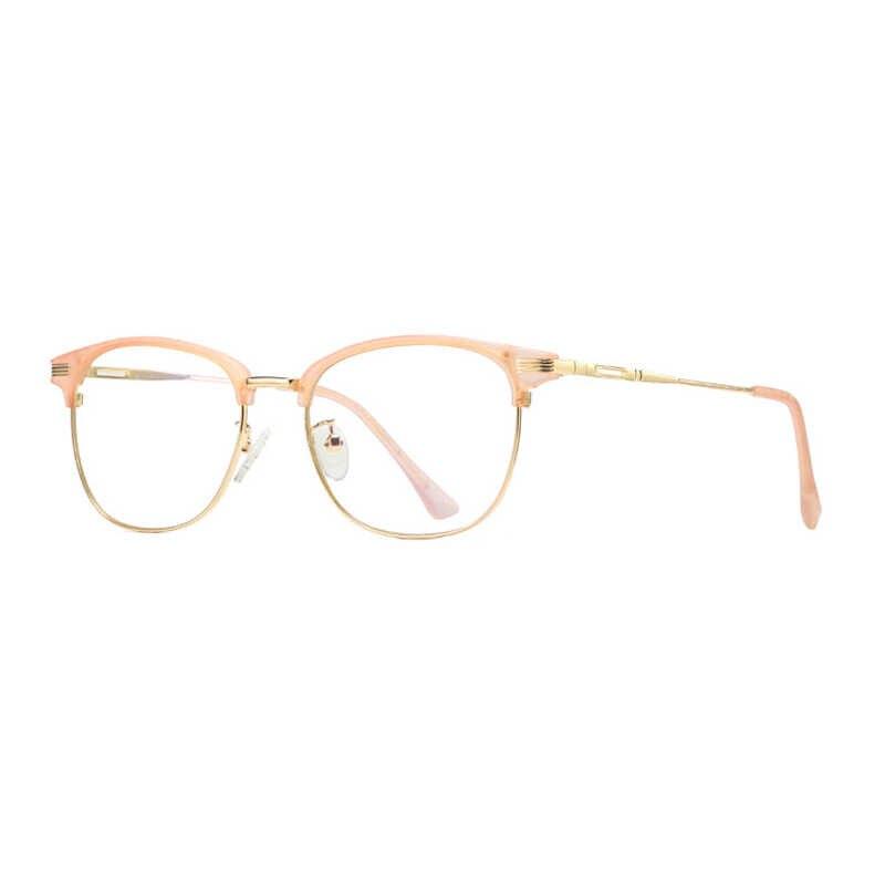 ec126e997ee ... Mincl Ultra Light Metal Blue Light Blocking Glasses Retro Computer  Glasses UV Protection Goggles Office