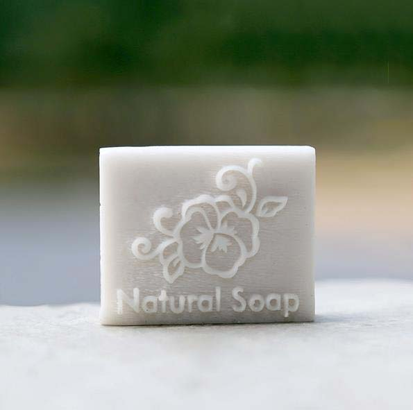 Natural soap flower resin soap seal stamp custom DIY new resin seal Soap printed pattern soap transfer chapter