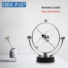 Desk Toy  Newtons Cradle Early Fun Development Educational Gift Steel Balance Ball Physics Science Pendulum