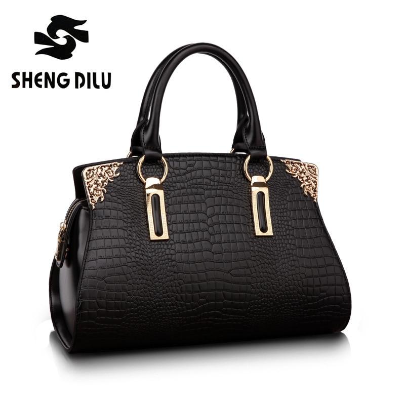 9ca4ec263da8 Womens-Lady-s-Business-Handbag-Vintage-Luxury-Alligator-Genuine-Leather-Tote-Shoulder- Bag-Satchel-Purse-Top.jpg