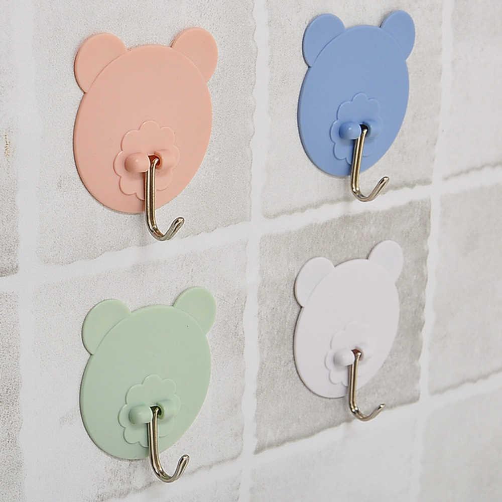 Ściany Sucker Hook silne strona główna kuchnia haki niedźwiedź przyssawki Sucker haki wieszak ścienny do kuchnia łazienka narzędzia