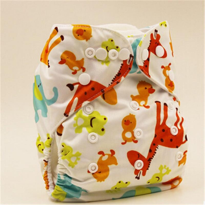 Einzelhandel Bunte Babywindel Waschbar Babytasche Windel Tuch Wiederverwendbare Windel Einsätze Abdeckung Wrap Insert Hohe Qualität 3-15Kgs