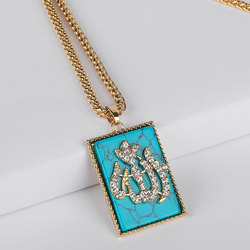 Allah islam muslim pendant  necklace    accept drop shipping