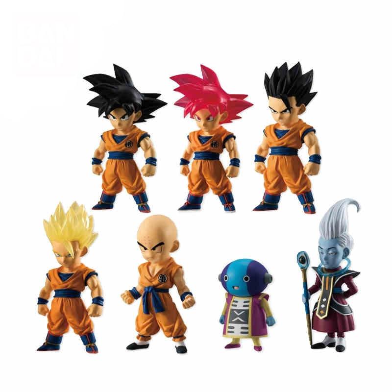 Dragon Ball Adverge Part 5 Action Figure Toys – Son Goku,Son Gohan,Krillin,Zen-Oh,Whis – Full set 100% Original