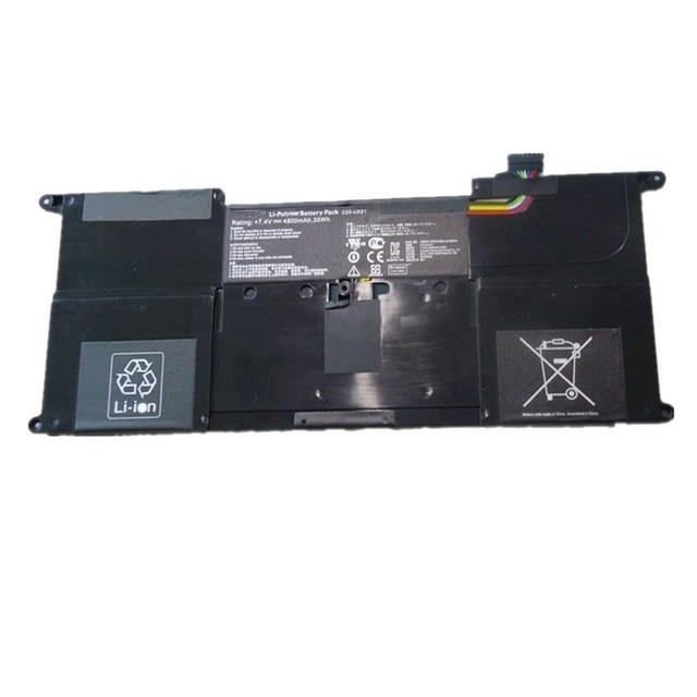 100% Новый аккумулятор Аккумулятор для Asus ZenBook UX21A UX21E C23-UX21 Ultrabook 7.4 В 35wh Бесплатная доставка