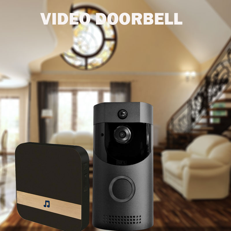Wifi Video Intercom Doorbell Camera Outdoor Home Security Monitor Infrared Night Vision  PIR Protection  720PWifi Video Intercom Doorbell Camera Outdoor Home Security Monitor Infrared Night Vision  PIR Protection  720P