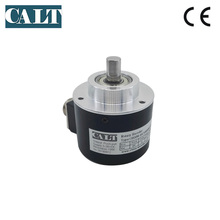 GHS58-10C1000BMP526  Push pull HTL Output 58mm outer 10mm Solid shaft incremental rotary encoder 1000 1024 2048 2000 2500 pulse free shipping calt alternative nemicon rotary encoder 10mm shaft encoder 58mm outer dia socket out line driver